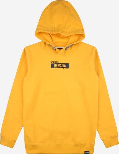 GARCIA Sweatshirt in gelb / schwarz, Produktansicht