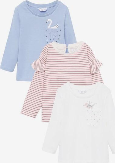 MANGO KIDS Koszulka 'Marinap-i' w kolorze niebieski / różowy / białym, Podgląd produktu