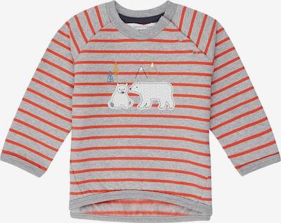 Sense Organics Sweatshirt 'ETU' in graumeliert / hummer, Produktansicht