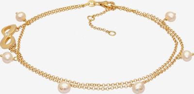 Nenalina Fußschmuck Infinity, Perle in gold, Produktansicht