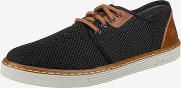 Pantofi cu șireturi de la RIEKER pe negru