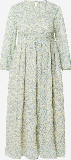 Rich & Royal Robe en bleu-gris / jaune / blanc, Vue avec produit