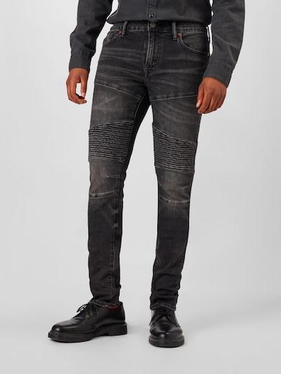 Džinsai 'AIRFLEX' iš American Eagle , spalva - juodo džinso spalva, Modelio vaizdas