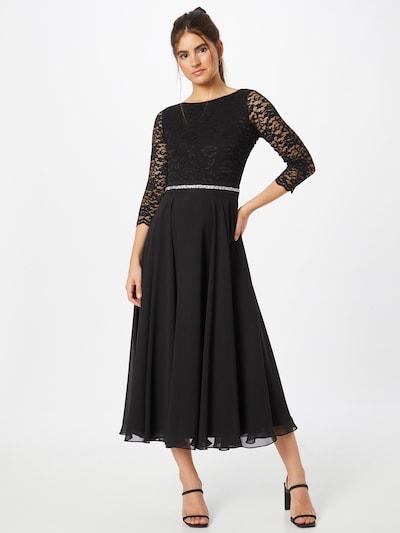 Rochie de seară SWING pe negru, Vizualizare model