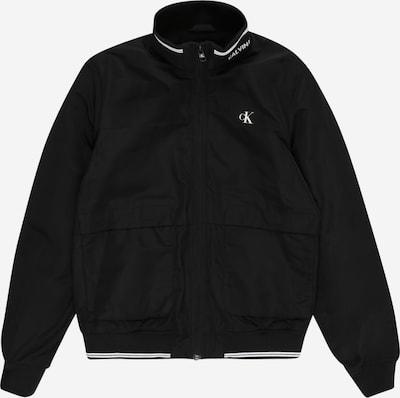 Calvin Klein Jeans Jacke 'PADDED INTARSIA' in schwarz, Produktansicht