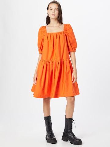 Gina Tricot Dress 'Ronja' in Orange