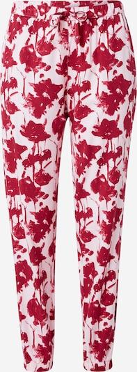 Pantaloni de pijama Calvin Klein Underwear pe roz deschis / roșu sânge, Vizualizare produs