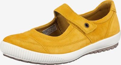 Legero Riemchenballerina in gelb, Produktansicht