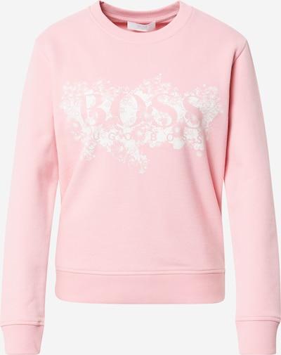 BOSS Casual Sweat-shirt 'C_Elaboss2' en rose / blanc, Vue avec produit