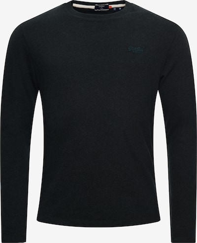 Superdry Shirt in de kleur Zwart: Vooraanzicht