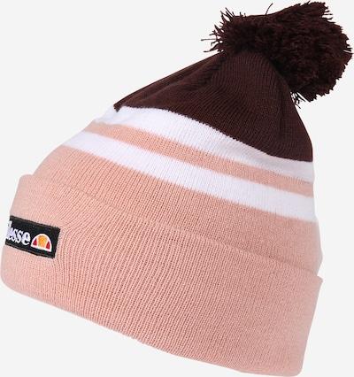 ELLESSE Mütze 'VALVERI' in dunkellila / rosa / weiß, Produktansicht