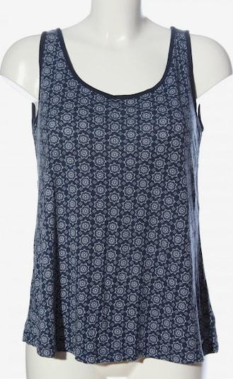 AJC ärmellose Bluse in L in blau / weiß, Produktansicht