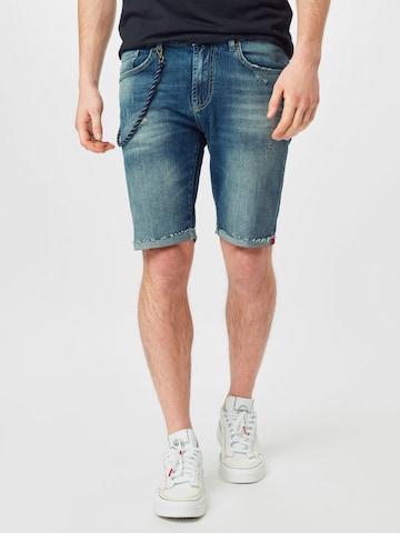 Goldgarn Jeans 'PLANKEN' i blå