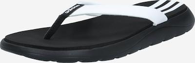 ADIDAS PERFORMANCE Zehentrenner 'Comfort' in schwarz / weiß, Produktansicht