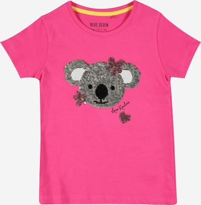BLUE SEVEN T-Shirt en gris foncé / rose / blanc, Vue avec produit
