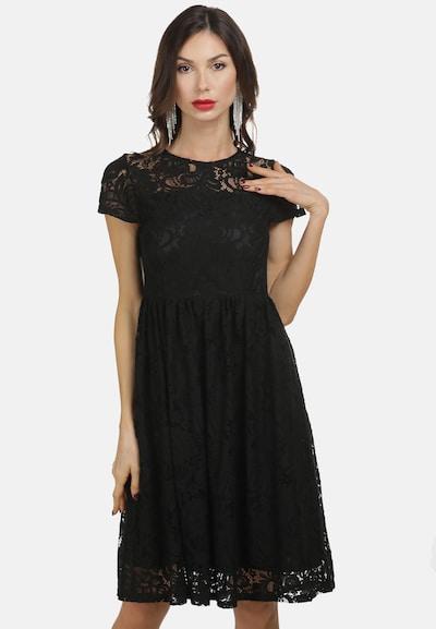 faina Robe de cocktail en noir, Vue avec modèle