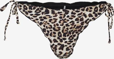 PIECES Braga de bikini 'Gaby' en beige / marrón / negro, Vista del producto
