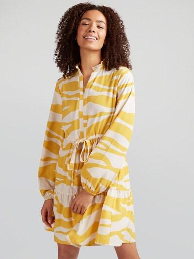 sárga / fehér VILA Ruha 'VIOMINA', Modell nézet