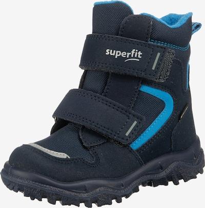 SUPERFIT Schuhe 'Husky' in kobaltblau / himmelblau / grau, Produktansicht