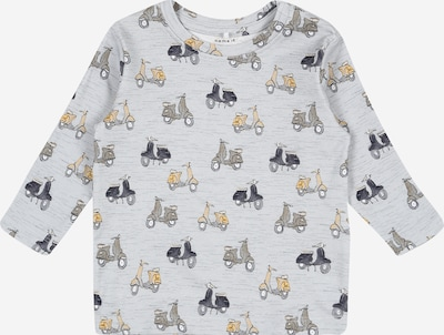 NAME IT T-Shirt 'HEINO' en jaune / gris / gris clair, Vue avec produit