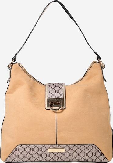 River Island Tasche in hellbeige / taubenblau / dunkelrot, Produktansicht
