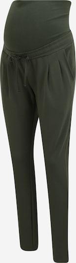 MAMALICIOUS Bukser med lægfolder i grøn, Produktvisning