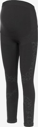 MAMALICIOUS Leggings 'Delta' en gris / negro, Vista del producto