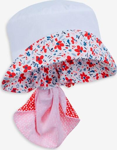 STERNTALER Hut in blau / opal / rosa / rot / weiß, Produktansicht