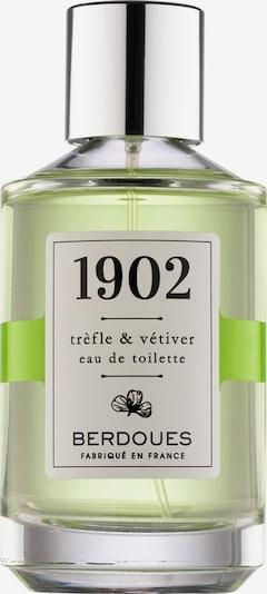 Berdoues Trefle & Vetiver Eau de Toilette in grün / silber, Produktansicht