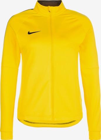 NIKE Athletic Jacket 'Academy 18' in Yellow