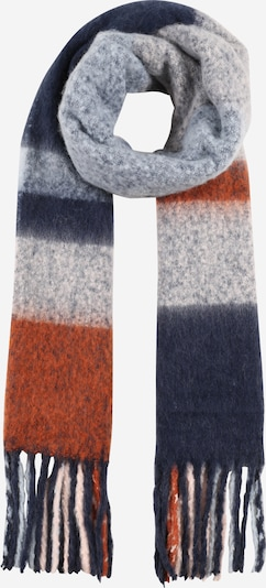 ONLY Scarf 'Jenna' in Dark blue / Grey / Red, Item view