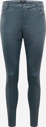 Zizzi Jeans 'Amy' in dunkelgrün, Produktansicht