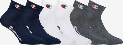 Champion Authentic Athletic Apparel Socken in dunkelblau / grau / weiß, Produktansicht