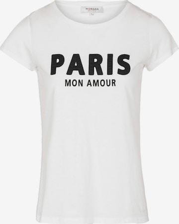Morgan Shirt 'DEPAR' in Weiß