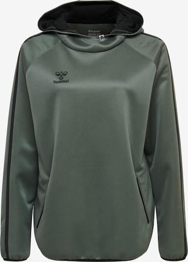 Hummel Hoodie in dunkelgrün, Produktansicht