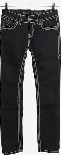 Blue Monkey Straight-Leg Jeans in 27-28/32 in schwarz / weiß, Produktansicht
