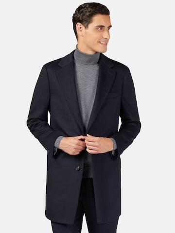 Palton de primăvară-toamnă de la Boggi Milano pe albastru