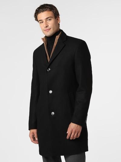 DANIEL HECHTER Mantel in schwarz, Modelansicht