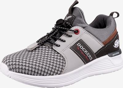 Dockers by Gerli Sneaker in braun / grau / anthrazit / hellgrau / weiß, Produktansicht