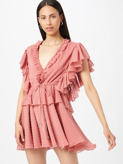 rózsaszín Forever Unique Ruha, Modell nézet
