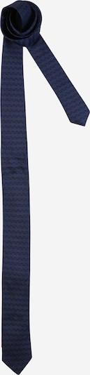 HUGO Cravate en bleu / noir, Vue avec produit