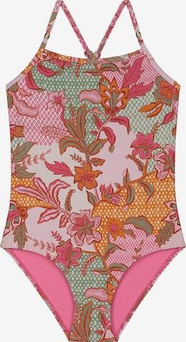 rozā Shiwi Peldkostīms