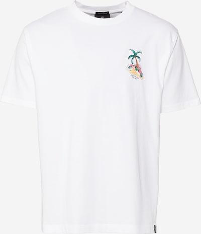 SCOTCH & SODA Shirt in braun / grün / jade / hellrot / weiß, Produktansicht