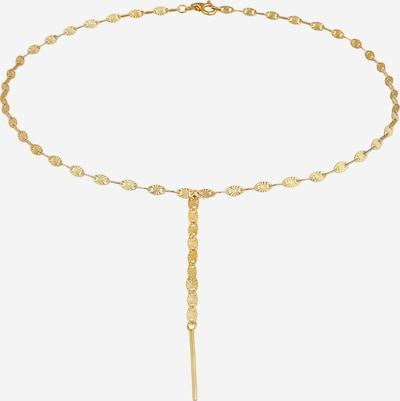 ELLI PREMIUM Halskette Valentino, Y-Kette in gold, Produktansicht