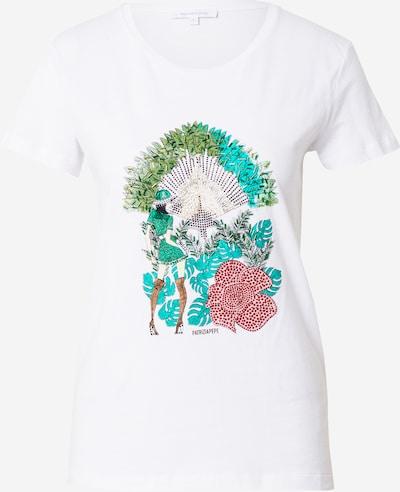 PATRIZIA PEPE Тениска 'MAGLIA' в пъстро / бяло, Преглед на продукта