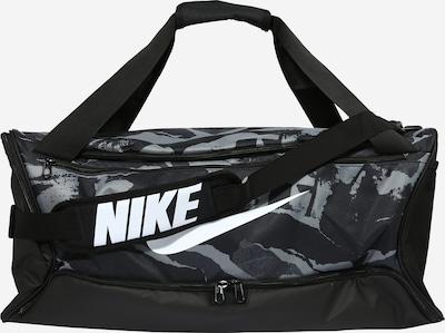 Geantă sport NIKE pe gri / negru / alb, Vizualizare produs