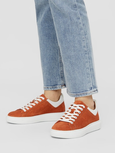Bianco Sneakers in orange: Frontalansicht