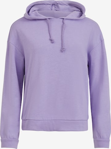 VILA Sweatshirt 'Rustie' in Purple