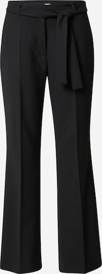 s.Oliver BLACK LABEL Suorat housut 'CHARLOTTE' värissä musta, Tuotenäkymä