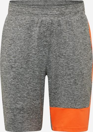 4F Sportsbukser i grå / orange, Produktvisning
